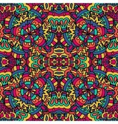 Seamless pattern ethnic geometric print vector