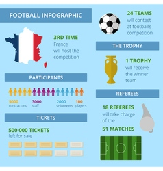 FootballInfographic2 vector image