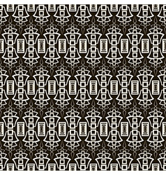 Seamless antique pattern ornament vector