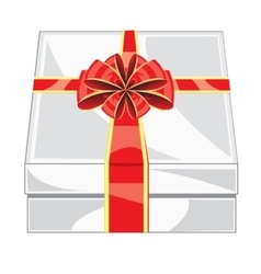 Box with gift vector