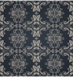 Seamless ornament vintage background vector image
