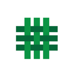 craft webbing logo vector image