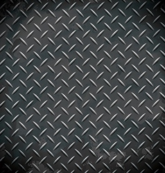 diamond metal background vector image