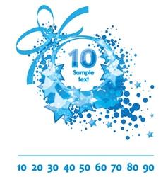 Greetings card congratulatory template vector image vector image