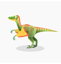 Lesothosaurus isolated cartoon Monster vector image vector image