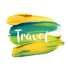 Motivation poster travel vector