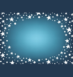 Star and dot space frame abstract background vector