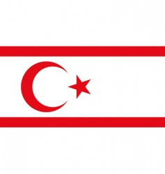 turkish republic vector image vector image