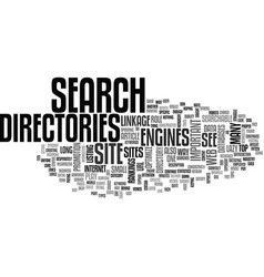 Why is directory linkage important text word vector