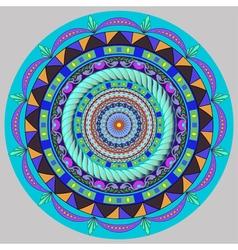 Mandala decoration design element vector