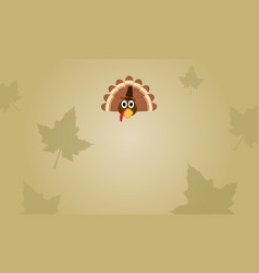 Background style thanksgiving day collection vector