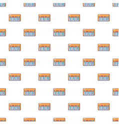 Synthesizer piano pattern seamless vector