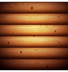 Wooden timbered wall seamless background vector