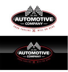 Automotive company vector
