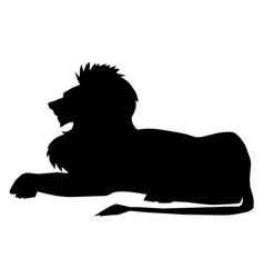 Lion symbol of power vector
