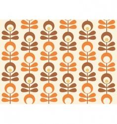 Scandinavian wallpaper vector image