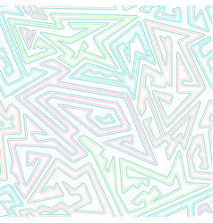 Pastel color geometric seamless pattern vector