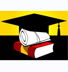 college vector image