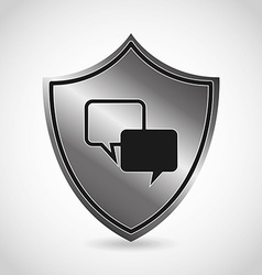Security icon vector