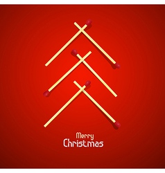 Merry Christmas theme vector image vector image