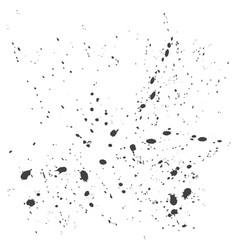 paint splatter background vector image