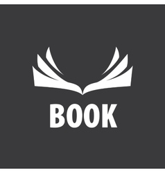 Sign book vector