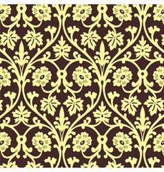 Retro wallpaper seamless vector image