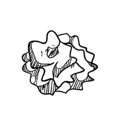 Wrinkled paper icon instrument design vector