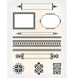 Set of abstract frame pattern vector