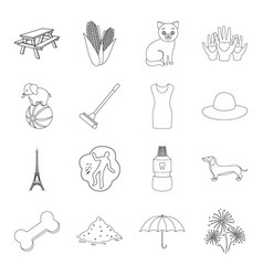 Medicine circus travel and other web icon in vector