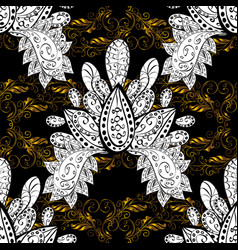 design vintage for card sketch wrapping textile vector image