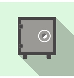 Security safe icon flat style vector image