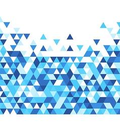 Blue and white abstract background vector