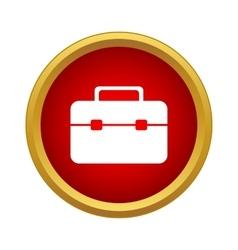 Brief case icon simple style vector