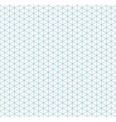 Cyan isometric grid with vertical guideline vector