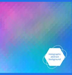 Holographic editable backdrop vector