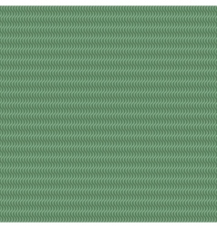Wave line green seamless pattern vector image