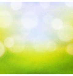 Nature bokeh background vector