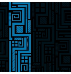 Blue abstract background vector