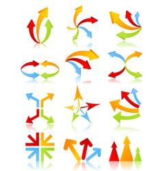 arrow icon6 vector image vector image
