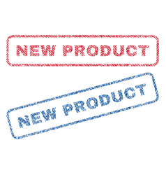 New product textile stamps vector