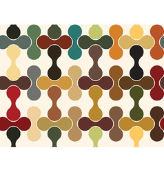 Puzzle seamless wallpaper vector image vector image