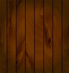 Realistic texture of wooden boards vector