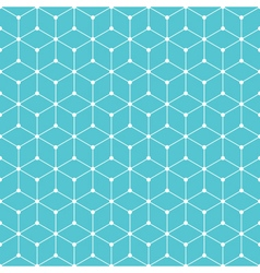 Cube dot pattern background vector