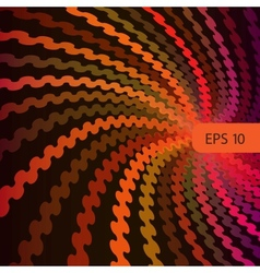 eps10 abstract swirl vector image vector image