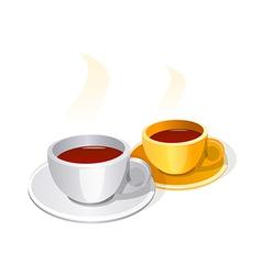 icon coffee vector image vector image