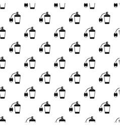 Retro perfume pattern vector
