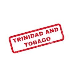 Trinidad and tobago rubber stamp vector