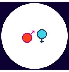Gender computer symbol vector