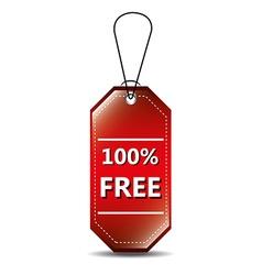 Free label design vector image vector image